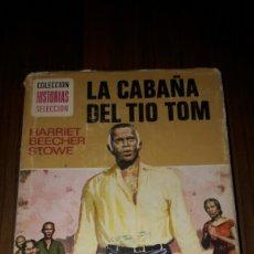Tebeos: LA CABAÑA DEL TÍO TOM COLECCION HISTORIAS SELECCION (BRUGUERA.1977)TAPA DURA N°3. Lote 96125676