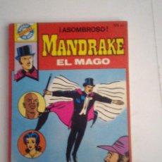 Tebeos: POCKET DE ASES - BRUGUERA - MANDRAKE EL MAGO - NUMERO 33 - BUEN ESTADO - CJ 76 - GORBAUD. Lote 96133399