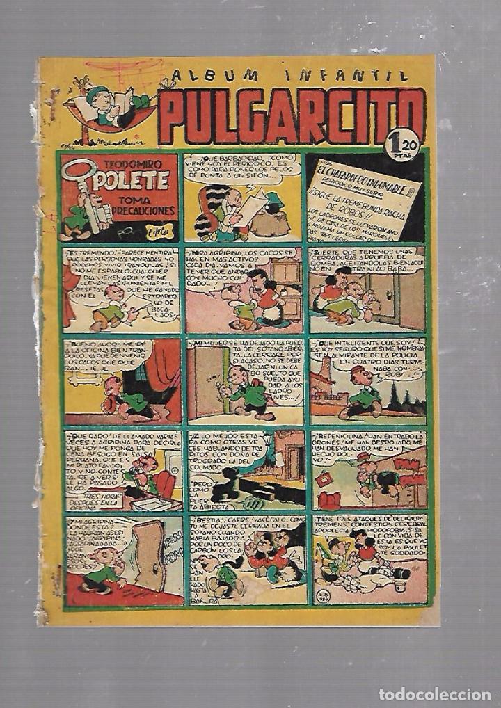 ALBUM INFANTIL PULGARCITO. Nº 75. TEODOMIRO POLETE TOMA PRECAUCIONES (Tebeos y Comics - Bruguera - Pulgarcito)