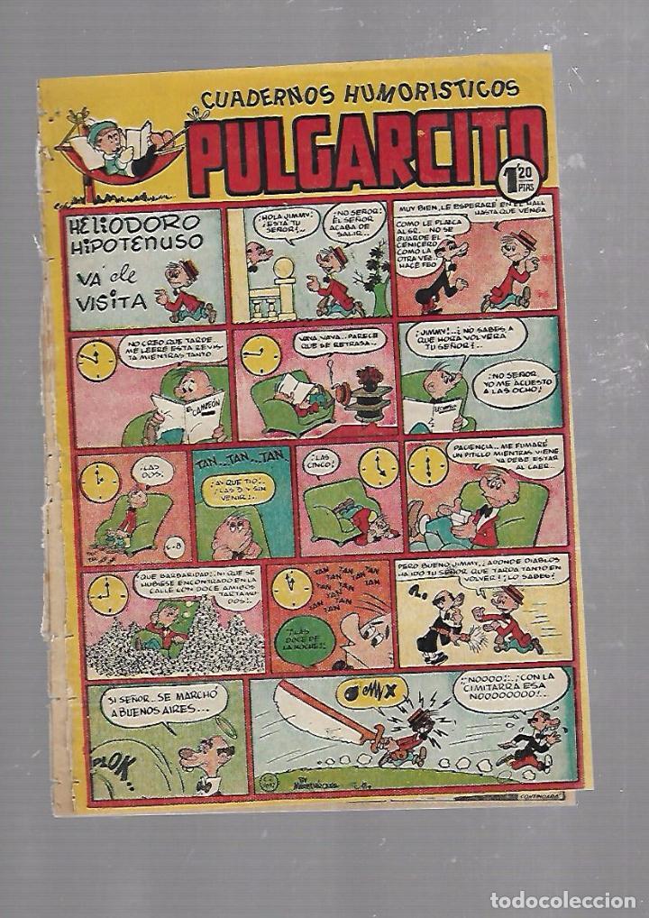 CUADERNOS HUMORISTICOS PULGARCITO. Nº 79. HELIODORO HIPOTENUSO VA DE VISITA (Tebeos y Comics - Bruguera - Pulgarcito)