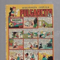 Tebeos: BIBLIOTECA COMICA PULGARCITO. Nº 71. HIPOSULFITO RECHUFO TOMA UNA DECISION. Lote 96141167