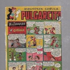 Tebeos: BIBLIOTECA COMICA PULGARCITO. Nº 80. HELIODORO Y LA COPA DE CAZALLA. Lote 96141211