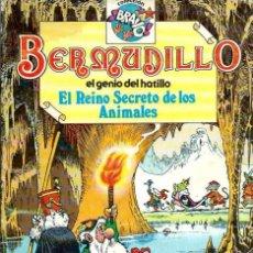Tebeos: BERMUDILLO EL GENIO DEL HATILLO Nº 2 - EL REINO SECRETO DE LOS ANIMALES - BRUGUERA 1982 1ª EDICION. Lote 96176975