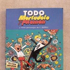 Tebeos: LIBRO - TODO MORTADELO Y FILEMON Y OTROS PERSONAJES DE IBAÑEZ (Nº 9). NUEVO IMPECABLE. Lote 96309331