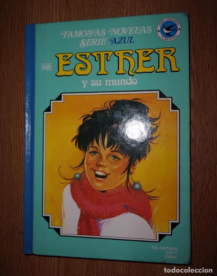 ESTHER Y SU MUNDO - TOMO 9 - FAMOSAS NOVELAS SERIE AZUL. (Tebeos y Comics - Bruguera - Esther)