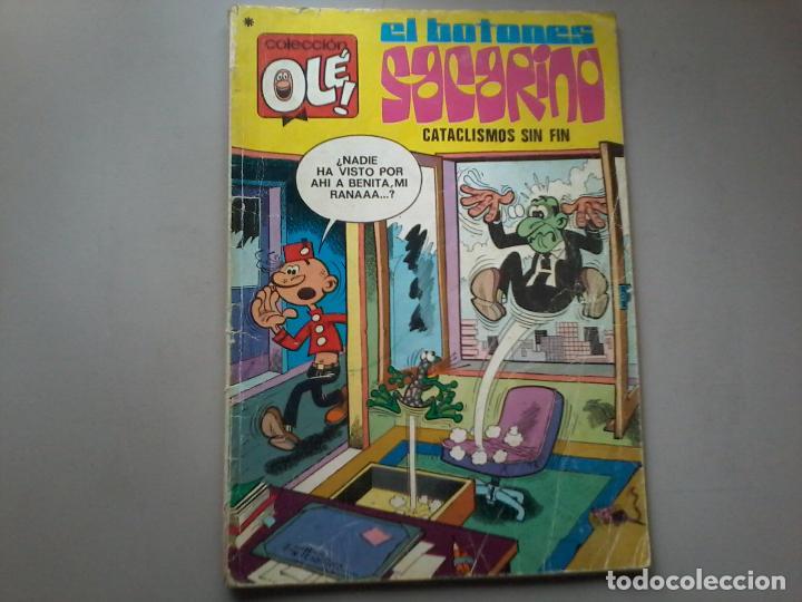 EL BOTONES SACARINO. CATACLISMOS SIN FIN. COLECCIÓN OLÉ. Nº 84. BRUGUERA (Tebeos y Comics - Bruguera - Ole)