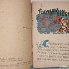 Tebeos: CUENTO LA TORTUGA Y LA LIBRE (GRÁFICAS BRUGERA) AÑOS 40 . Lote 96940759