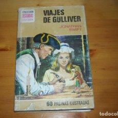 Tebeos: VIAJES DE GULLIVER - BRUGUERA - 6 EDICION 1976 -. Lote 96966699