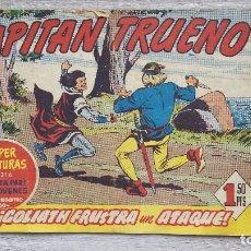 Tebeos: EL CAPITAN TRUENO FACSIMIL NUMERO 201 GOLIATH FRUSTRA UN ATAQUE GRAPA (BRUGUERA). Lote 97115655