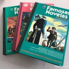 Tebeos: LOTE FAMOSAS NOVELAS - BRUGUERA - 1975 (3 COMICS). Lote 97199715