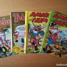 Tebeos: LOTE DE TEBEOS COMICS MORTADELO Y FILEMÓN. AMIGOS DEL HUMOR. BRUGUERA. Lote 97253559