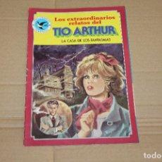 Tebeos: LOS EXTRAORDINARIOS RELATOS DEL TIO ARTHUR Nº 108, JOYAS LITERARIAS FEMENINAS, EDITORIAL BRUGUERA. Lote 97350367