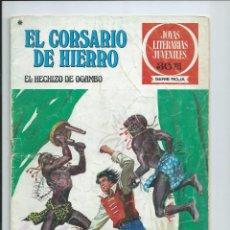 Tebeos: EL CORSARIO DE HIERRO Nº 36. JOYAS LITERARIAS JUVENILES. BRUGUERA. 1978. Lote 97351435