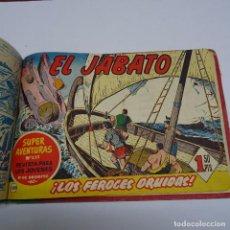 Tebeos: BRUGUERA; EL JABATO: LOS 100 PRIMEROS NUMEROS DE LA 1º EDICION (1958) ENCUADERNADOS EN UN VOLUMEN. Lote 97380579