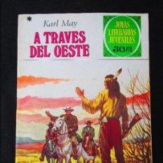 Tebeos: JOYAS LITERARIAS JUVENILES Nº 179 Y 181 A TRAVÉS DEL OESTE Y EN LAS MONTAÑAS DE ÁFRICA. Lote 90909910