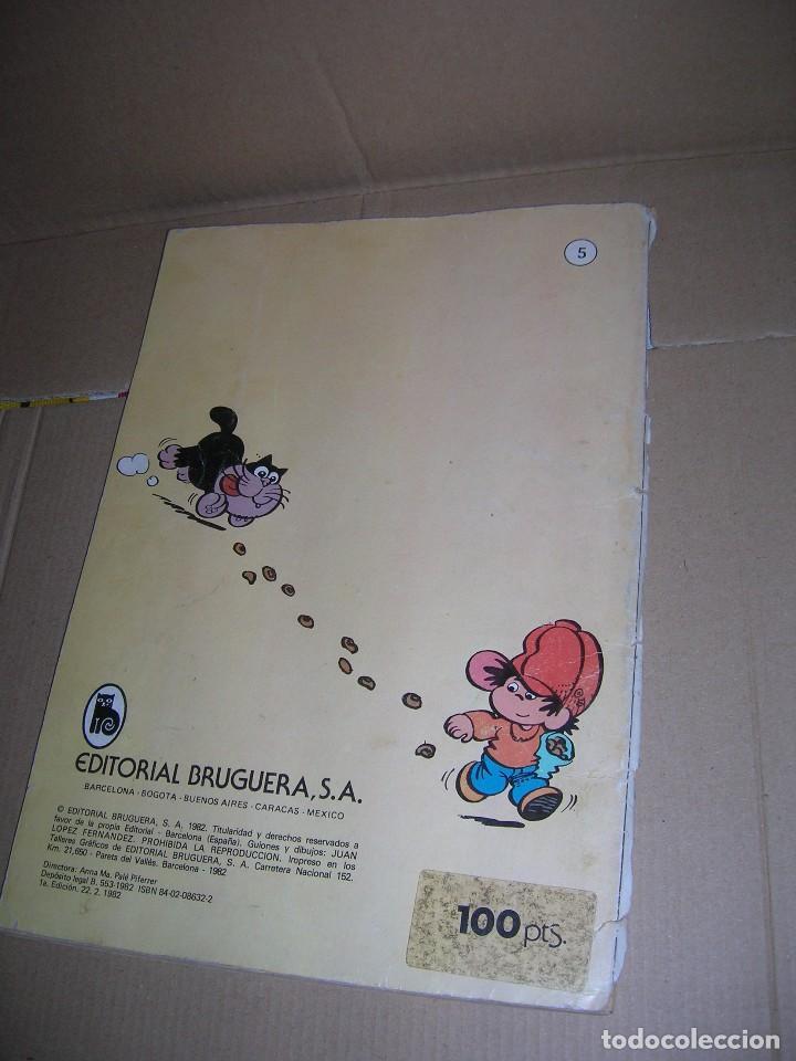 Tebeos: PULGARCITO. Editorial Bruguera, nº 5. 1ª edición, 22-02-1982. Ver datos interiores. - Foto 3 - 97477659