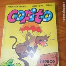 Tebeos: COPITO Nº 49 -- ED. BRUGUERA CUADERNILLO 100 PGINAS HANNA BARBERA. Lote 97702351