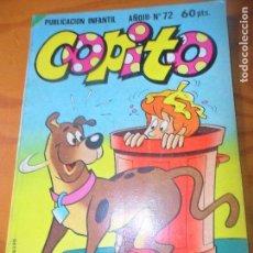 Tebeos: COPITO Nº 72 -- ED. BRUGUERA CUADERNILLO 100 PGINAS HANNA BARBERA. Lote 97702731