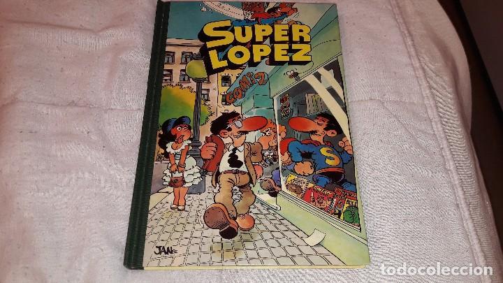 SUPERLOPEZ TOMO 1 BRUGUERA 1983 (Tebeos y Comics - Bruguera - Super Humor)