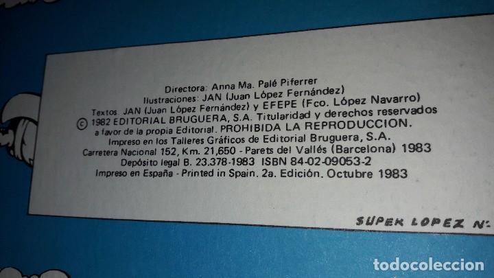 Tebeos: SUPERLOPEZ TOMO 1 BRUGUERA 1983 - Foto 2 - 97780899