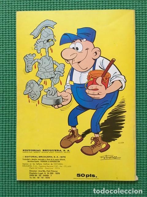 Tebeos: Colección Olé 122 - Sacarino y Pepe Gotera y Otilio - 1ª edición 1976 con número en lomo - Foto 3 - 97826430
