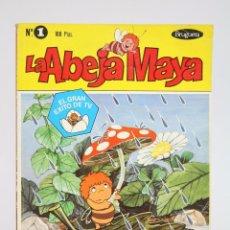 Tebeos: CÓMIC LA ABEJA MAYA - Nº 1. EL NACIMIENTO DE MAYA - ED. BRUGUERA, 1978. Lote 172047699
