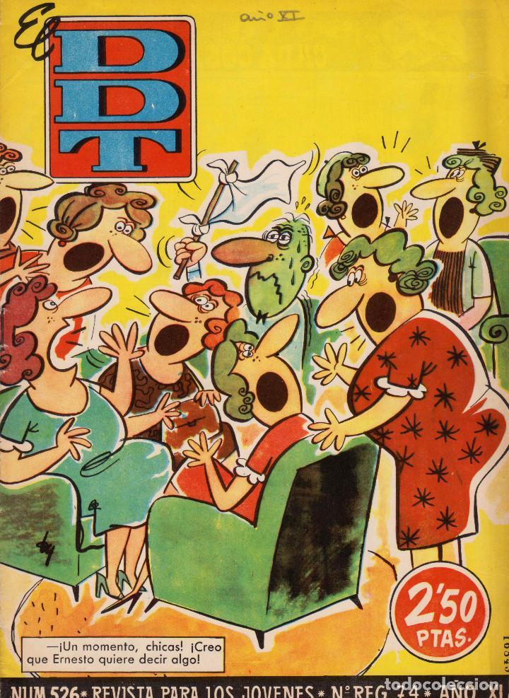 EL DDT. AÑO XI. NÚMERO 526. BUEN ESTADO (Tebeos y Comics - Bruguera - DDT)