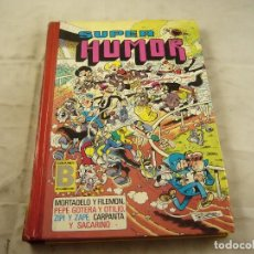 Tebeos: MORTADELO Y FILEMON SUPERHUMOR. Lote 97934435