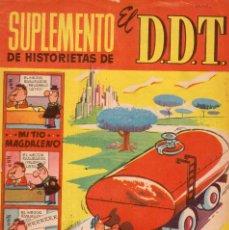 Tebeos: SUPLEMENTO DE HISTORIETAS DE EL DDT. NÚMERO 4. Lote 97982699