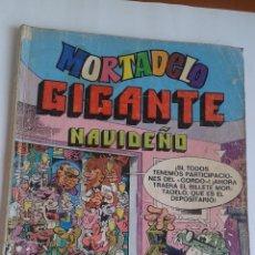 Tebeos: MORTADELO GIGANTE NAVIDEÑO. Lote 98051099