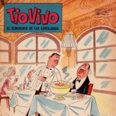 Livros de Banda Desenhada: TIO VIVO. EL SEMANARIO DE LAS CARCAJADAS. ÉPOCA 2ª. AÑO VI. NÚMERO 114. BUEN ESTADO. Lote 98078871
