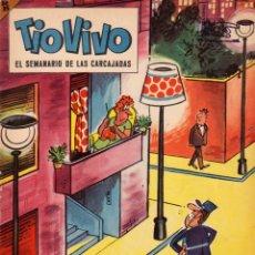 Livros de Banda Desenhada: TIO VIVO. EL SEMANARIO DE LAS CARCAJADAS. ÉPOCA 2ª. AÑO VI. NÚMERO 116. BUEN ESTADO. Lote 98079355