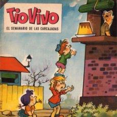 Tebeos: TIOVIVO. EL SEMANARIO DE LAS CARCAJADAS. ÉPOCA 2ª. AÑO VI. NÚMERO 118. BUEN ESTADO. Lote 98079835
