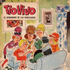 Livros de Banda Desenhada: TIO VIVO. EL SEMANARIO DE LAS CARCAJADAS. ÉPOCA 2ª. AÑO VI. NÚMERO 119. BUEN ESTADO. Lote 98080727