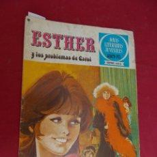 Tebeos: JOYAS LITERARIAS JUVENILES SERIE AZUL ESTHER. Nº 3. EDITORIAL BRUGUERA. 1ª EDICION. 1978. Lote 98160779