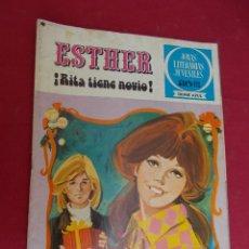 Tebeos: JOYAS LITERARIAS JUVENILES SERIE AZUL ESTHER. Nº 9. EDITORIAL BRUGUERA. 1ª EDICION. 1978. Lote 98161023