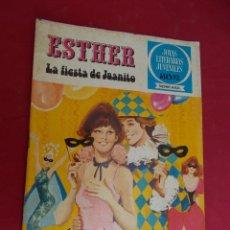 Tebeos: JOYAS LITERARIAS JUVENILES SERIE AZUL ESTHER. Nº 10. EDITORIAL BRUGUERA. 1ª EDICION. 1978. Lote 98161171