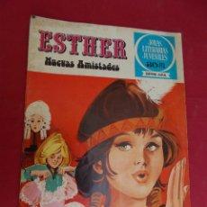 Tebeos: JOYAS LITERARIAS JUVENILES SERIE AZUL ESTHER. Nº 12. EDITORIAL BRUGUERA. 1ª EDICION. 1978. Lote 98161383