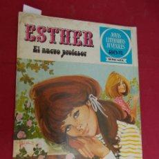 Tebeos: JOYAS LITERARIAS JUVENILES SERIE AZUL ESTHER. Nº 16. EDITORIAL BRUGUERA. 1ª EDICION. 1978. Lote 98161611