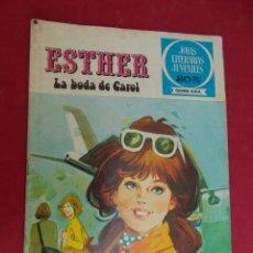 Tebeos: JOYAS LITERARIAS JUVENILES SERIE AZUL ESTHER. Nº 17. EDITORIAL BRUGUERA. 1ª EDICION. 1978. Lote 98161867