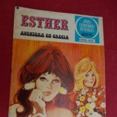 Tebeos: JOYAS LITERARIAS JUVENILES SERIE AZUL ESTHER. Nº 22. EDITORIAL BRUGUERA. 1ª EDICION. 1978. Lote 98162179
