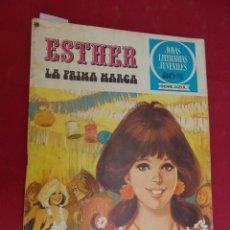 Tebeos: JOYAS LITERARIAS JUVENILES SERIE AZUL ESTHER. Nº 23. EDITORIAL BRUGUERA. 1ª EDICION. 1978. Lote 98162363