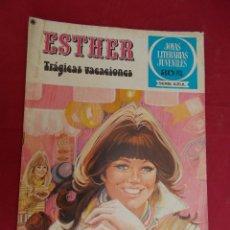 Tebeos: JOYAS LITERARIAS JUVENILES SERIE AZUL ESTHER. Nº 28. EDITORIAL BRUGUERA. 1ª EDICION. 1979. Lote 98162603