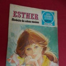 Tebeos: JOYAS LITERARIAS JUVENILES SERIE AZUL ESTHER. Nº 34. EDITORIAL BRUGUERA. 1ª EDICION. 1979. Lote 98162915