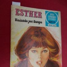 Tebeos: JOYAS LITERARIAS JUVENILES SERIE AZUL ESTHER. Nº 35. EDITORIAL BRUGUERA. 1ª EDICION. 1979. Lote 98163083
