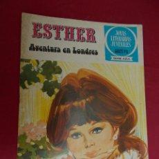 Livros de Banda Desenhada: JOYAS LITERARIAS JUVENILES SERIE AZUL ESTHER. Nº 41. EDITORIAL BRUGUERA. 1ª EDICION. 1979. Lote 98163475