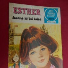 Tebeos: JOYAS LITERARIAS JUVENILES SERIE AZUL ESTHER. Nº 42. EDITORIAL BRUGUERA. 1ª EDICION. 1979. Lote 98163687