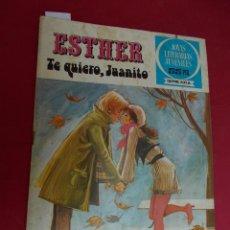 Tebeos: JOYAS LITERARIAS JUVENILES SERIE AZUL ESTHER. Nº 68. EDITORIAL BRUGUERA. 1ª EDICION. 1981. Lote 98165191