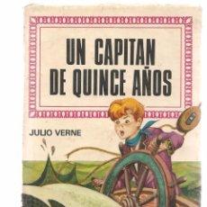 Tebeos: HISTORIAS INFANTILES. Nº 16. UN CAPITÁN DE QUINCE AÑOS. JULIO VERNE. BRUGUERA 1ª EDC. 1968 (ST/). Lote 98205623