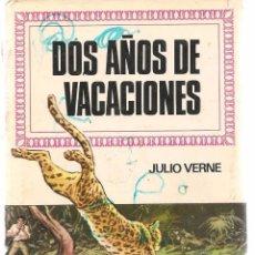 Tebeos: HISTORIAS INFANTILES. Nº 30. DOS AÑOS DE VACACIONES. JULIO VERNE. BRUGUERA 1ª EDC. 1969 (ST/). Lote 98210703